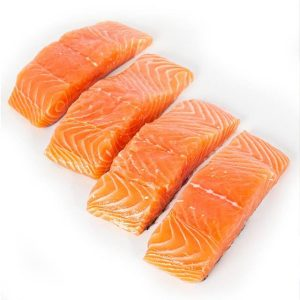 Frozen Salmon Steak Cut (Norway)